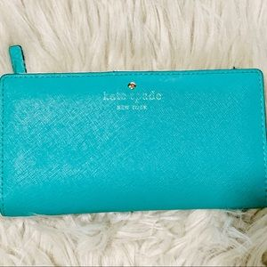 Kate Spade Leather Stacy Wallet Pre loved